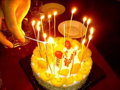Sobre fazer aniversário e completar Anos