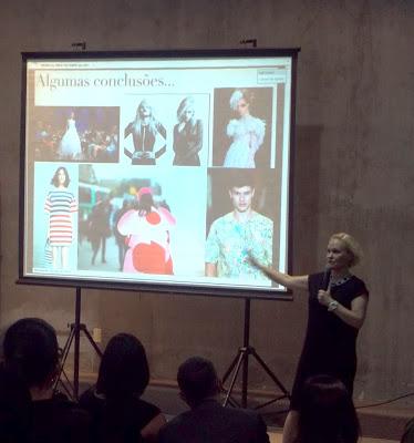 Palestra da consultora de moda Erika Palomino no GO Fashion