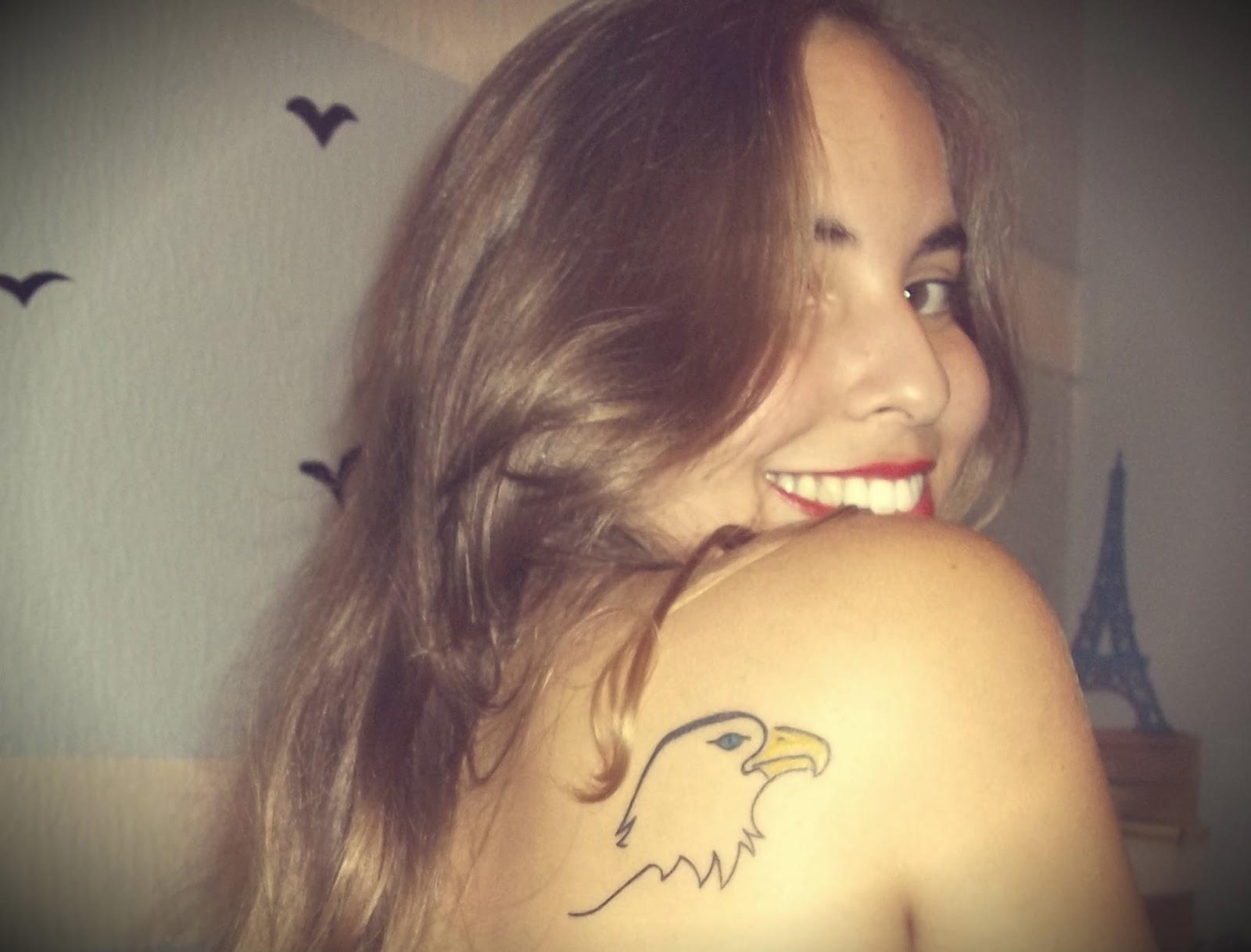 Minha tatuagem de águia e seu significado