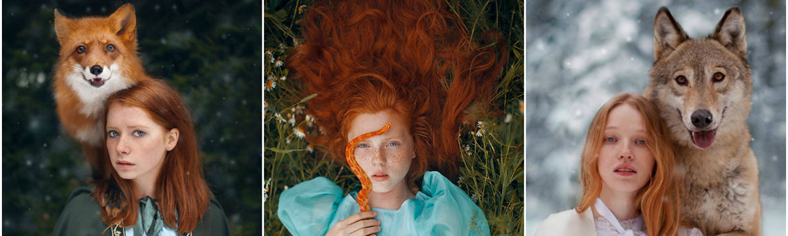 O mundo surreal de Katerina Plotnikova