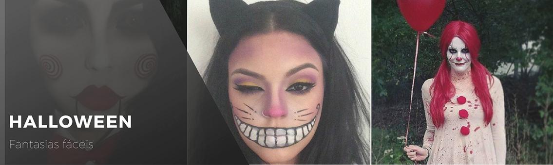 Faça sua fantasia de halloween