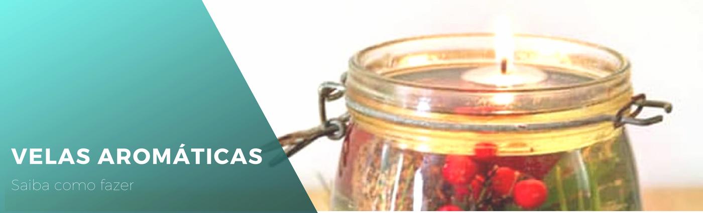 Como fazer velas aromáticas naturais com óleo