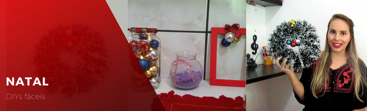 DIY: decoração de natal fácil
