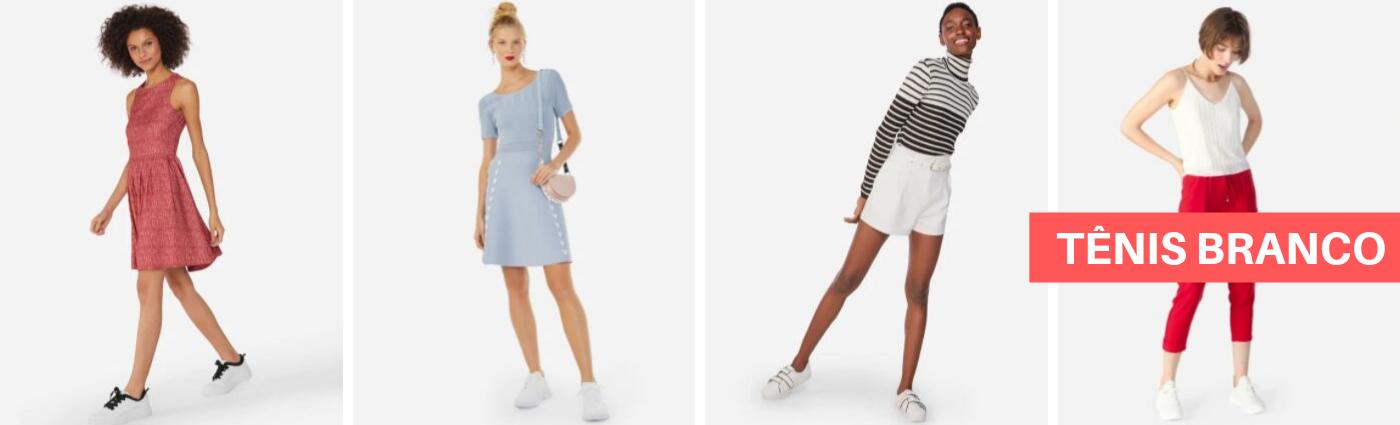 Tênis branco: um clássico do guarda-roupa feminino que amamos