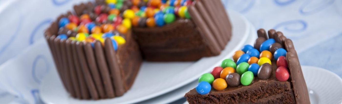 Ideias para servir as drageias de chocolate