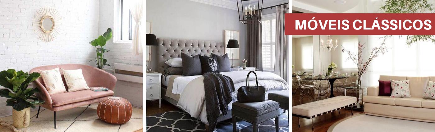 Aposte em móveis clássicos para equilibrar diferentes estilos na decoração