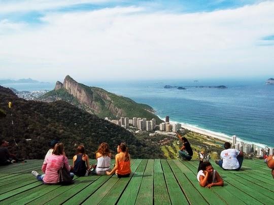 voo de Asa Delta no Rio de Janeiro lary di lua