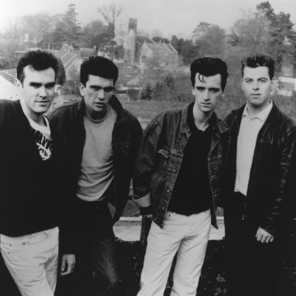 história da banda inglesa The Smiths lary di lua