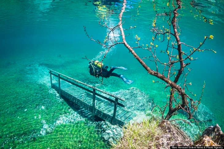 Lago Verde  Áustria lary di lua